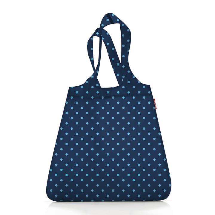 mini maxi shopper von reisenthel in mixed dots blau (Limited Edition)