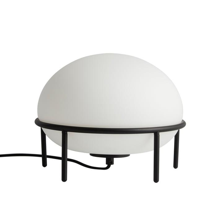 Pump Tischleuchte, Ø 24 cm von Woud in schwarz