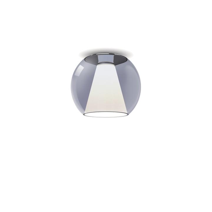 serien.lighting - Draft Deckenleuchte S, Ø 26 x H 23 cm, 2700 K / 1130 lm, blau