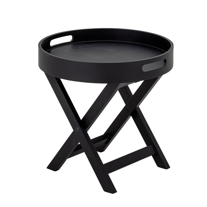 Freya Tablett-Tisch von Bloomingville in schwarz