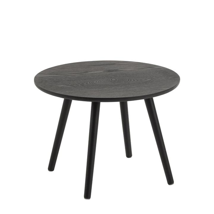 Bord Beistelltisch, Ø 50 cm von Nuuck in schwarz / schwarz