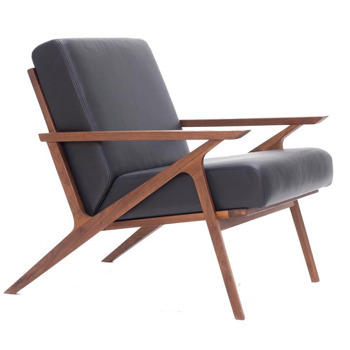 Jesper Lounge Chair von Nuuck in walnuss