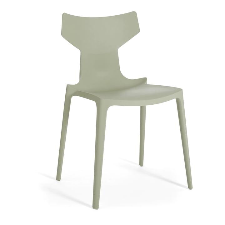 Re-Chair Stuhl von Kartell in grün