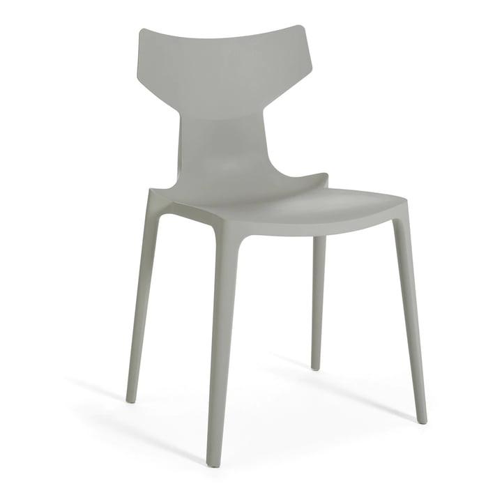 Re-Chair Stuhl von Kartell in grau