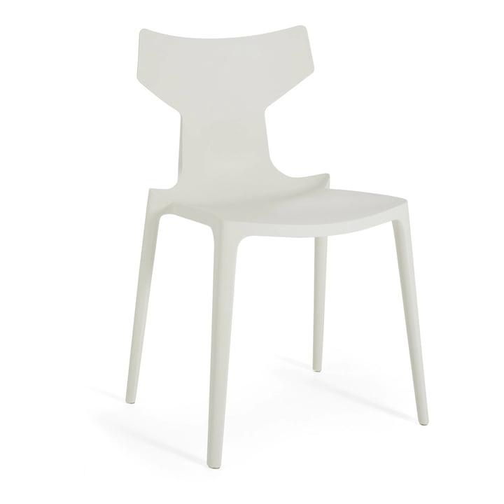 Re-Chair Stuhl von Kartell in weiß