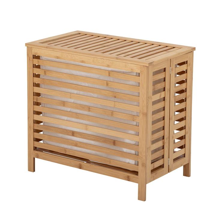 Aden Wäschekorb von Bloomingville aus Bambus natur