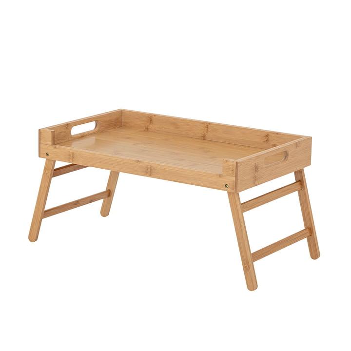 Aden Tablett-Tisch von Bloomingville aus Bambus natur