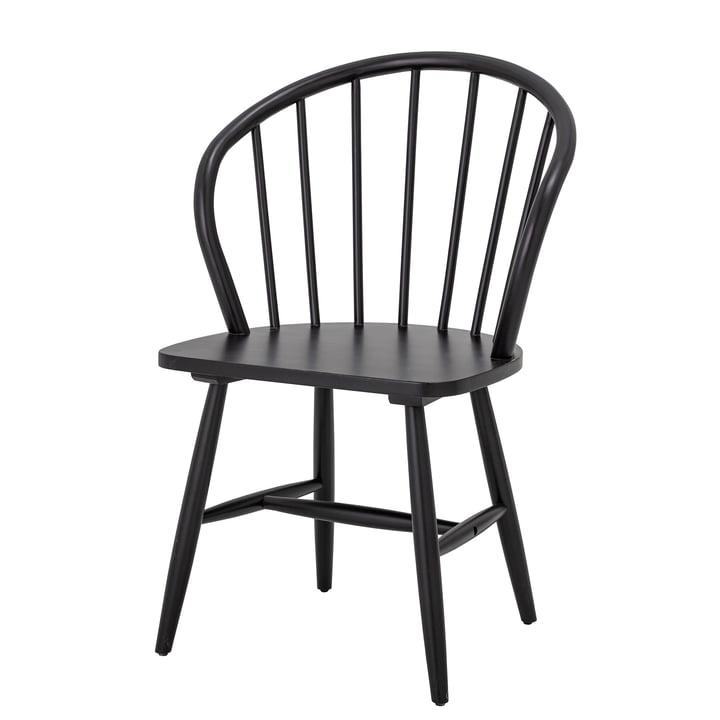 Olin Dining Chair von Bloomingville in schwarz