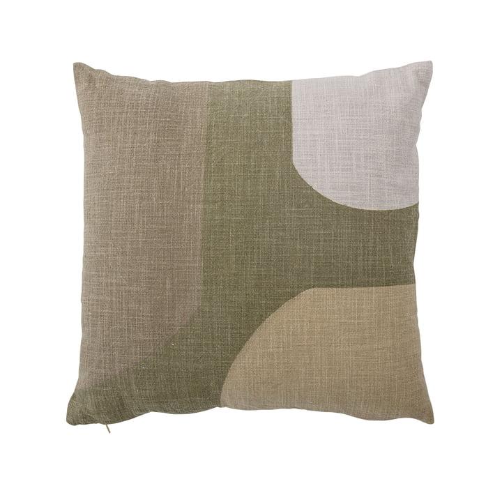 Kuni Kissen, 45 x 45 cm von Bloomingville in grün / weiß