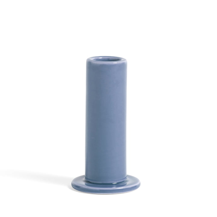 Tube Kerzenhalter M von Hay in der Farbe lavendel
