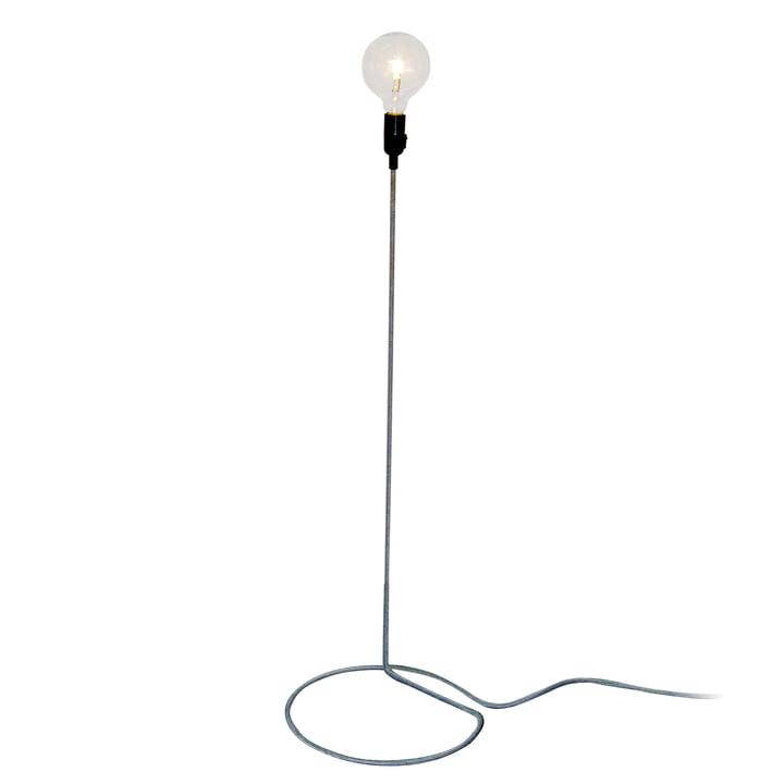 Design House Stockholm - Cord Lamp Stehleuchte in Schwarz