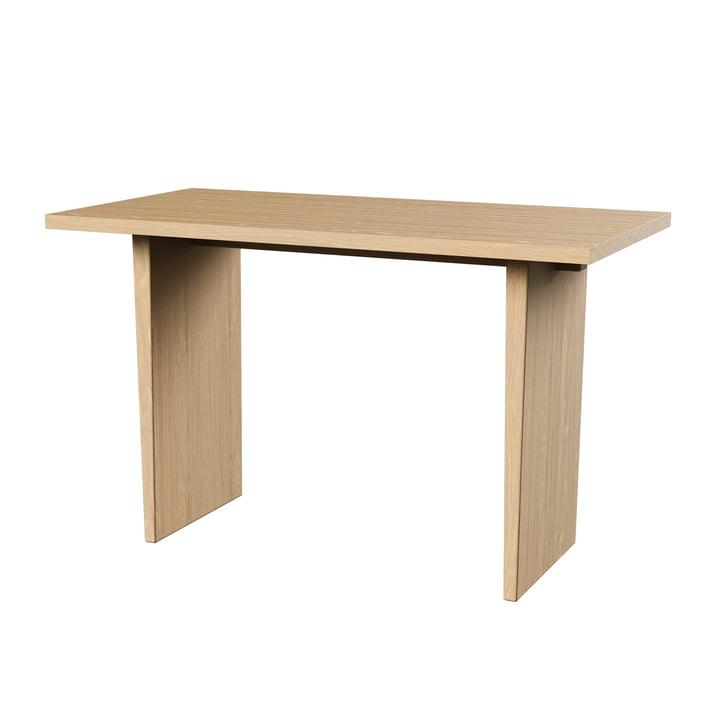 Private Schreibtisch, 60 x 120 cm, natur / Eiche von Gubi