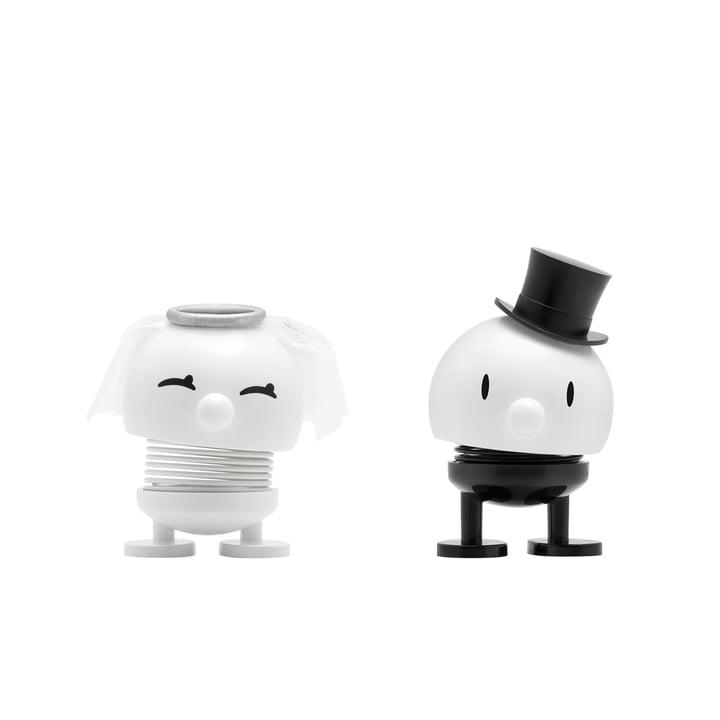Bride & Groom, klein / weiß von Hoptimist