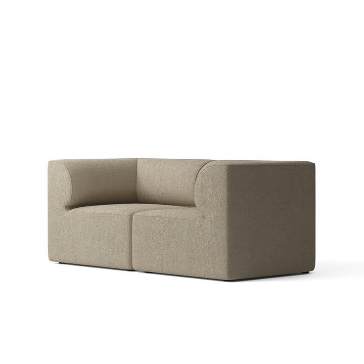 Eave 86 2-Sitzer Sofa, Bouclé beige von Menu