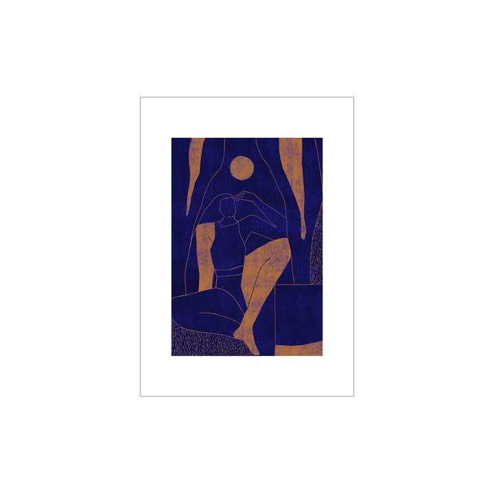 Mujer y Calor Poster 01 von Paper Collective, 30 x 40 cm