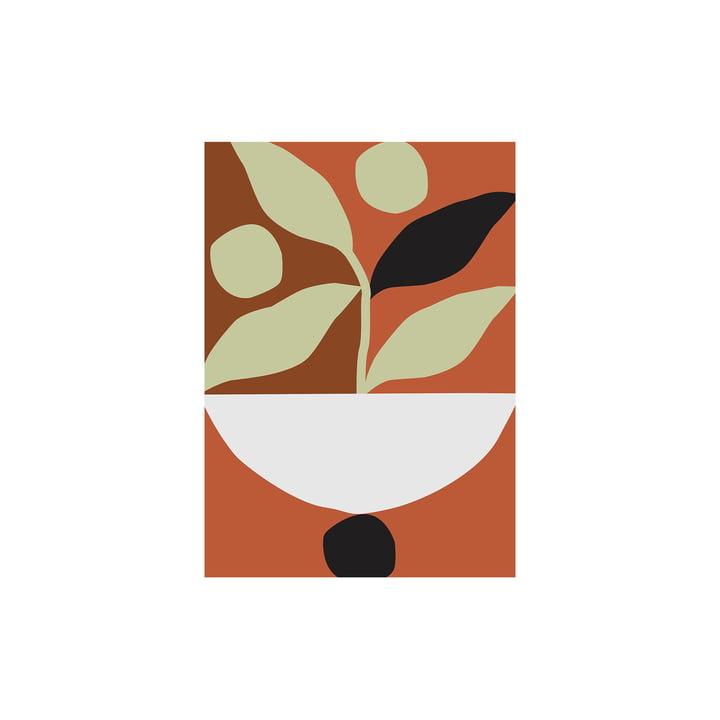 Maceta Poster von Paper Collective, 30 x 40 cm