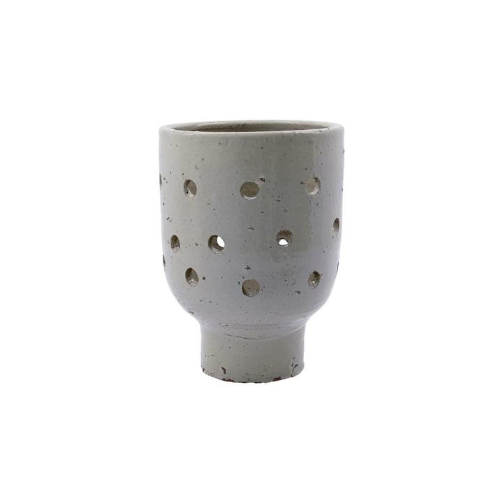 Artist Teelichthalter Ø 15 x H 20 cm von House Doctor, beige