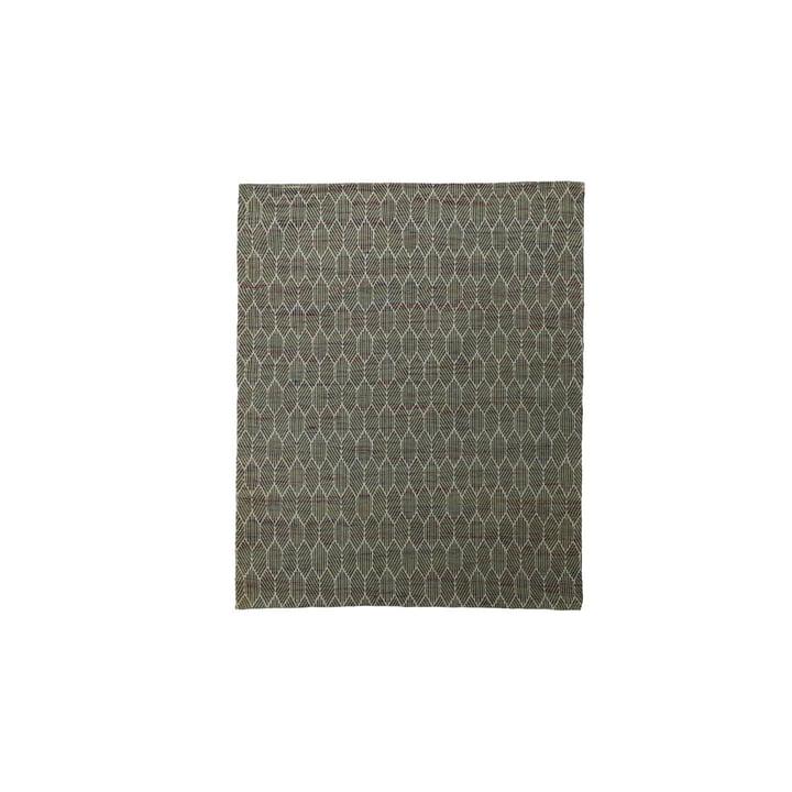Agon Teppich 180 x 180 cm von House Doctor, grün