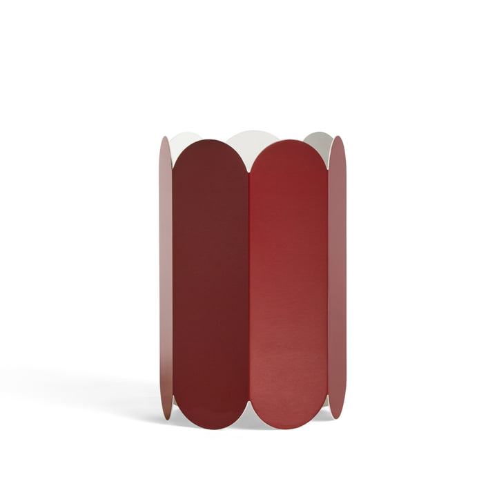 Arcs Lampenschirm Ø 20 x H 30 cm von Hay in der Farbe auburn rot