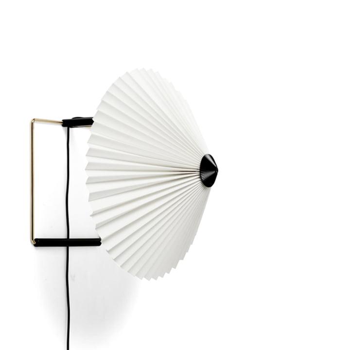 Matin Wandleuchte LED von Hay Ø 30 cm in der Farbe weiß