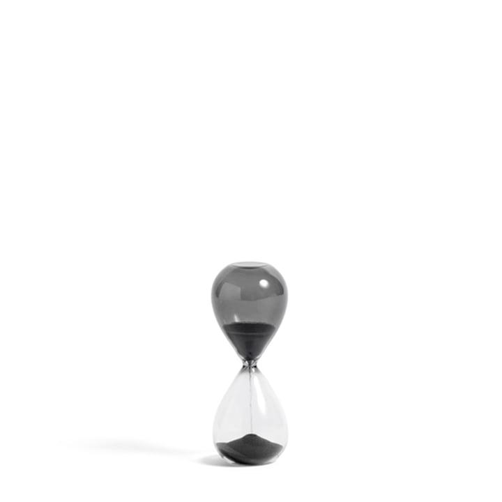 Time Sanduhr S von Hay in der Farbe schwarz