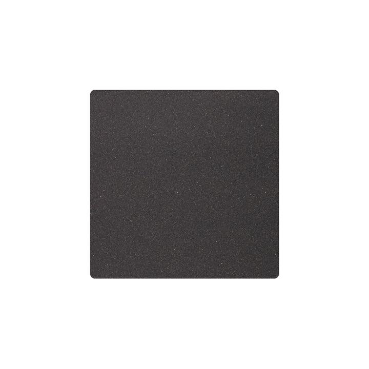 Tischset Square S 28 x 28 cm, Core meliert anthrazit von LindDNA