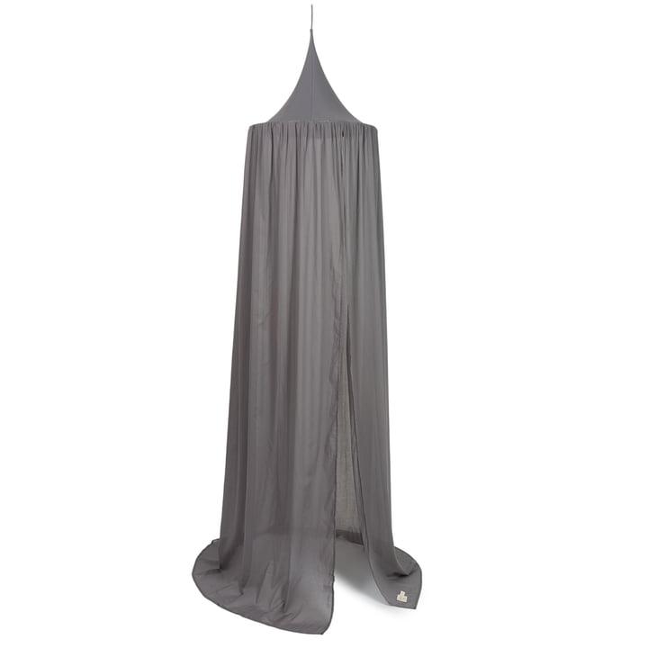 Vera Betthimmel, 250 x 50 cm von Nobodinoz in  slate grey