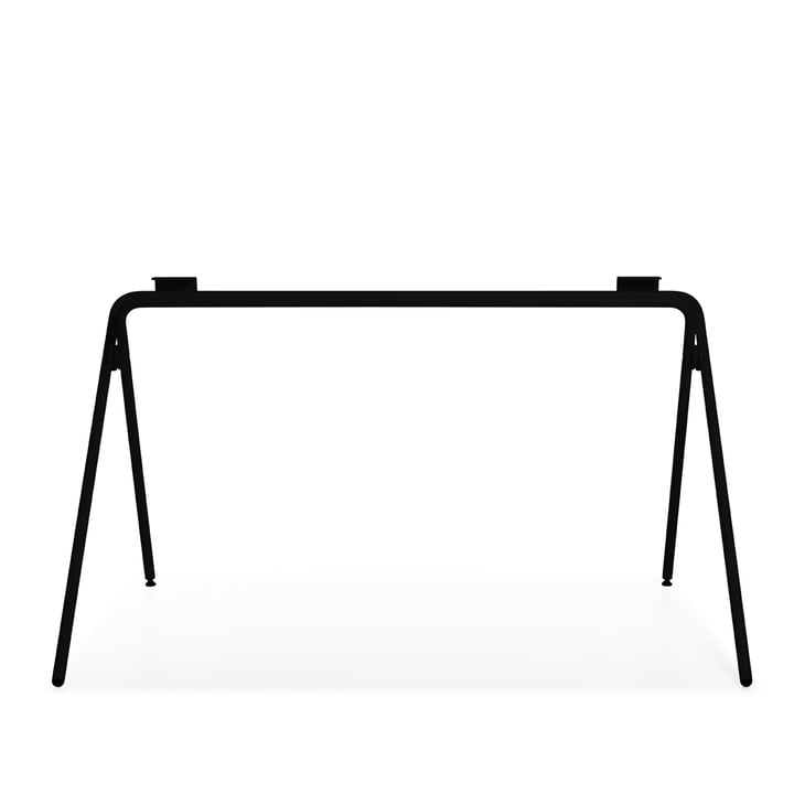 Plato Tischgestell, schwarz von Müller Möbelwerkstätten