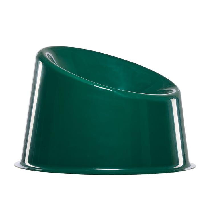 Panto Pop Stuhl von Verpan in dunkelgrün