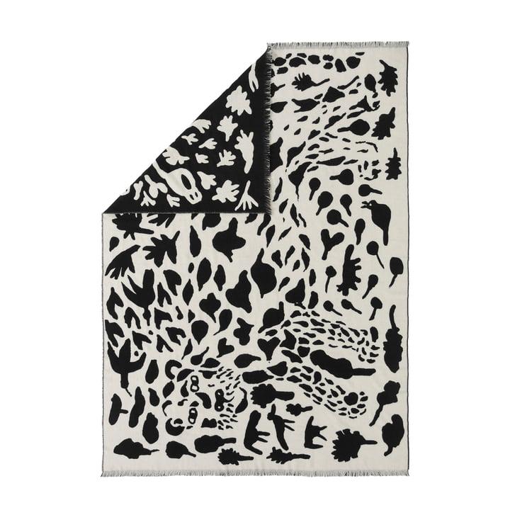 Oiva Toikka Wolldecke von Iittala in Cheetah schwarz