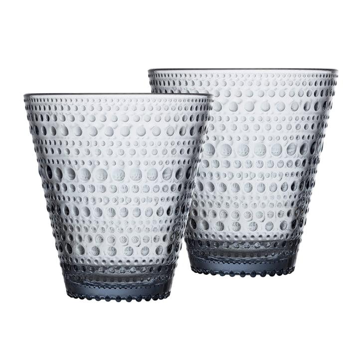 Kastehelmi Trinkglas 30 cl von Iittala in der recycled Edition (2er-Set)