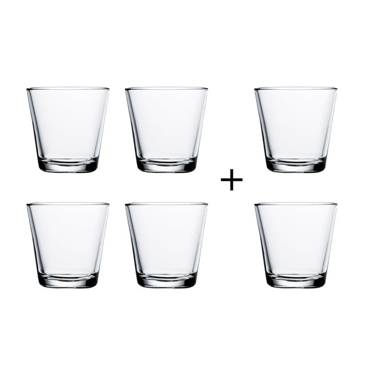 Kartio Trinkgläser von Iittala, Angebot: 4 + 2 GRATIS, klar 21 cl