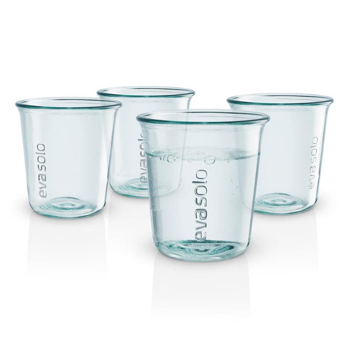 Recycled Trinkglas (4er-Set) von Eva Solo