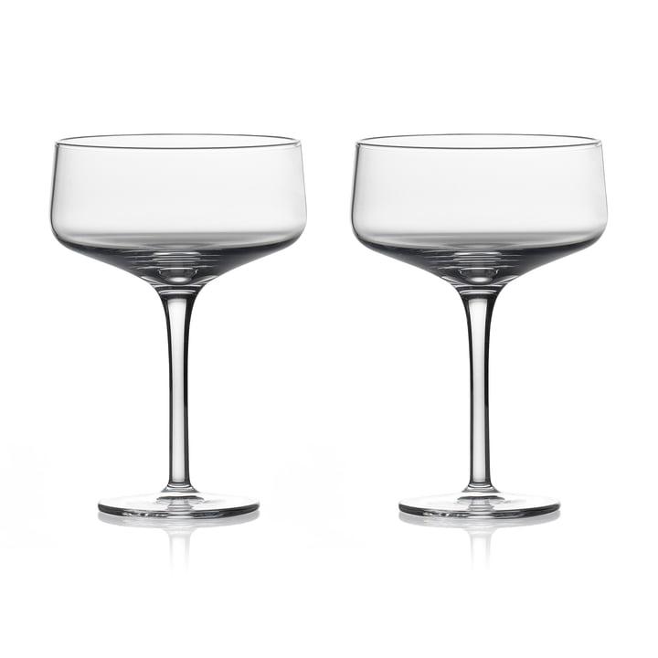 Rocks Coupe Cocktailglas von Zone Denmark, 27cl (2er-Set)