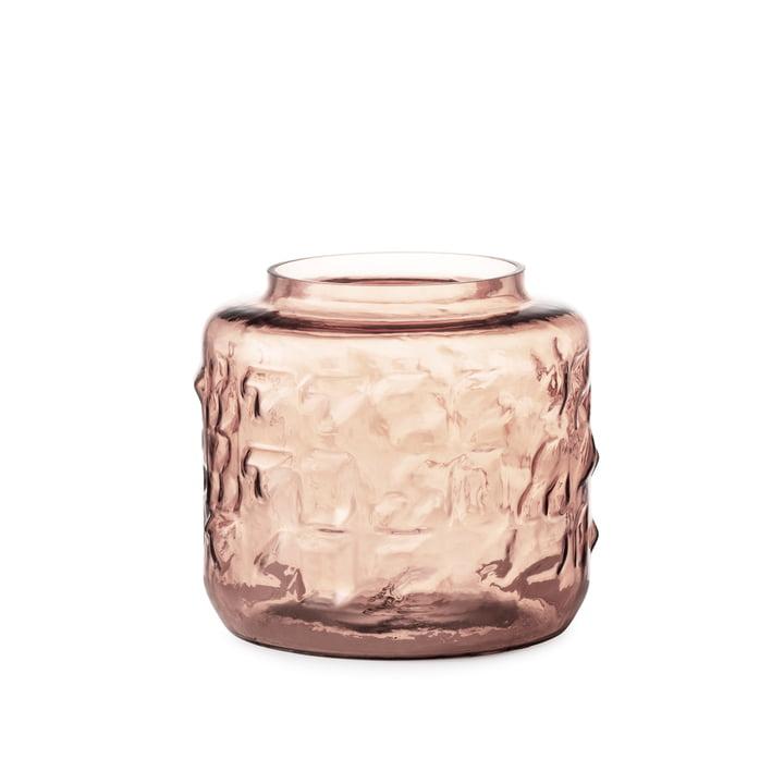 Tombola Vase H 17 cm von Normann Copenhagen in rosa