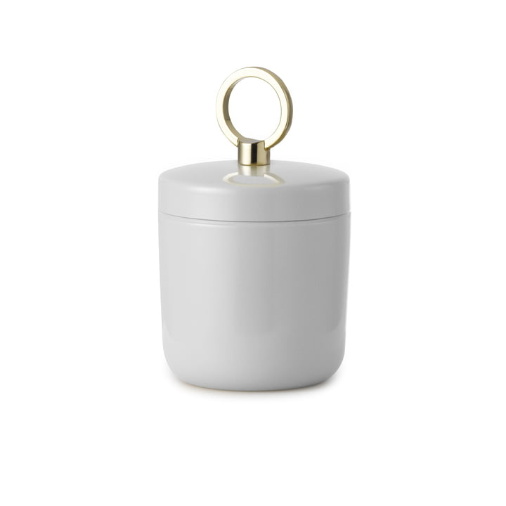 Ring Box Aufbewahrung klein von Normann Copenhagen in hellgrau