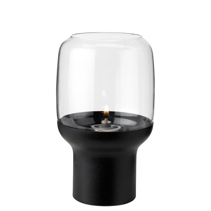 Hoop Teelichthalter von Stelton in schwarz
