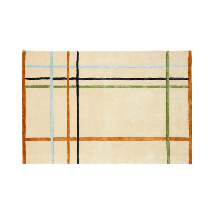 Teppich gemustert 120 x 180 cm, bunt von Hübsch Interior