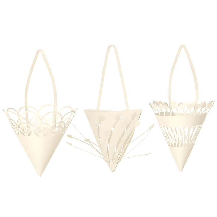 Papier Weihnachtsanhänger Cones von ferm Living