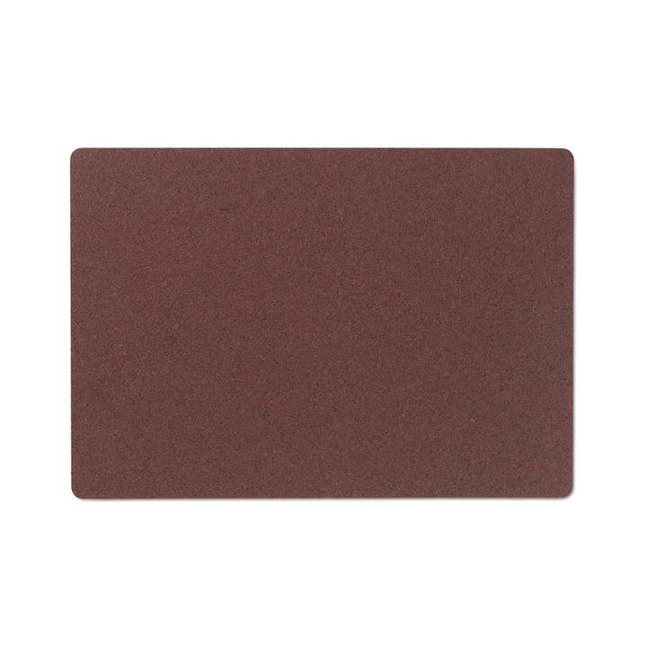 Corki Tischset von Rosendahl in der Farbe burgund