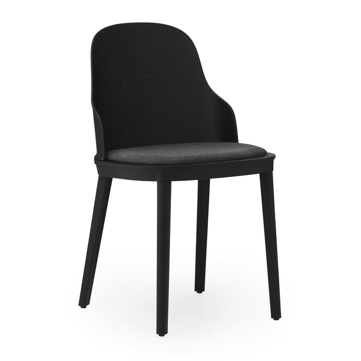 Allez Stuhl gepolstert Canvas von Normann Copenhagen in schwarz