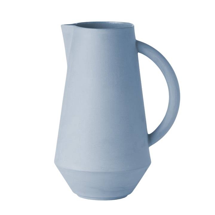 Unison Keramik Karaffe von Schneid in baby blue