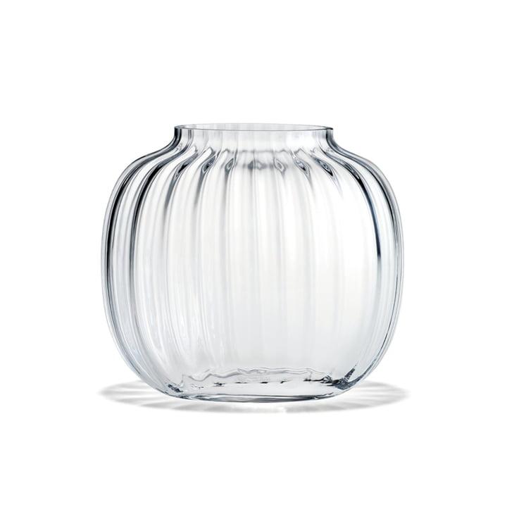 Primula Vase oval von Holmegaard in der klaren Ausführung