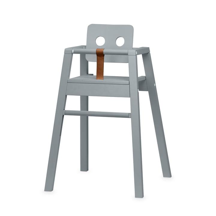 Robot Hochstuhl, H 80,5 cm, grau von Nofred
