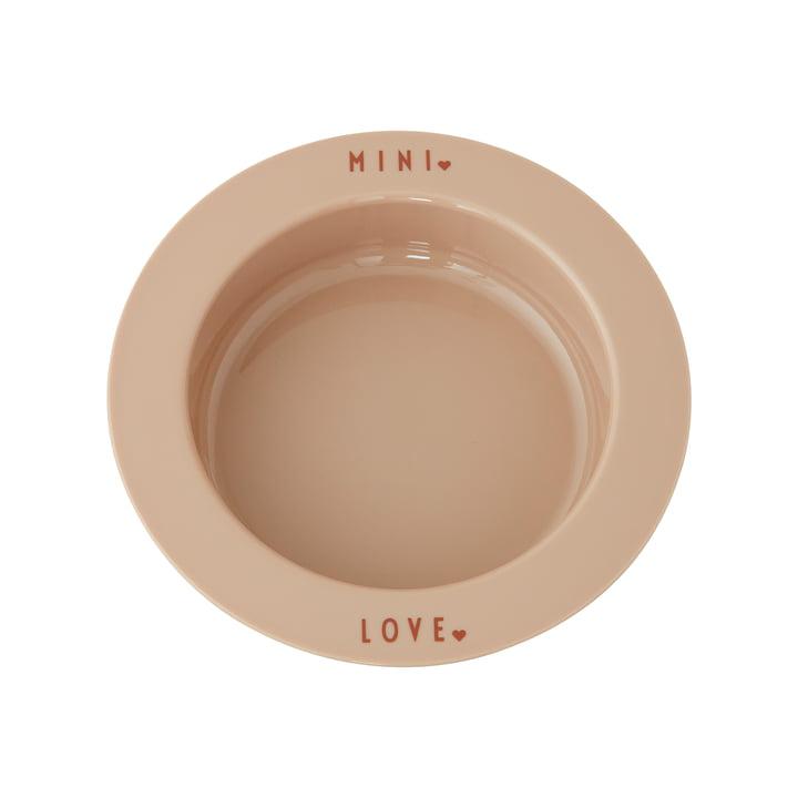 AJ Mini Favourite Tritan Teller von Design Letters in Love / beige