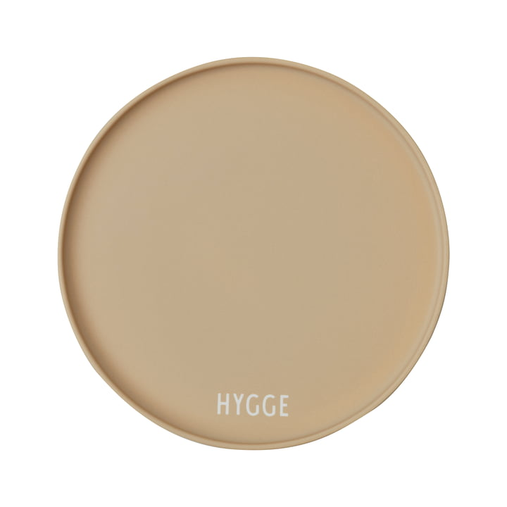 AJ Favourite Porzellan Teller von Design Letters in Hygge / beige