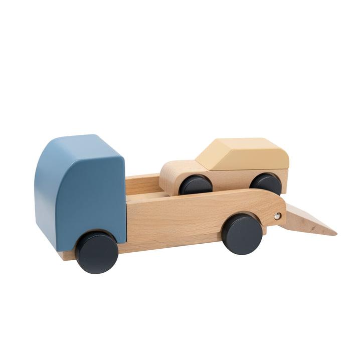 Autotransporter mit Auto von Sebra