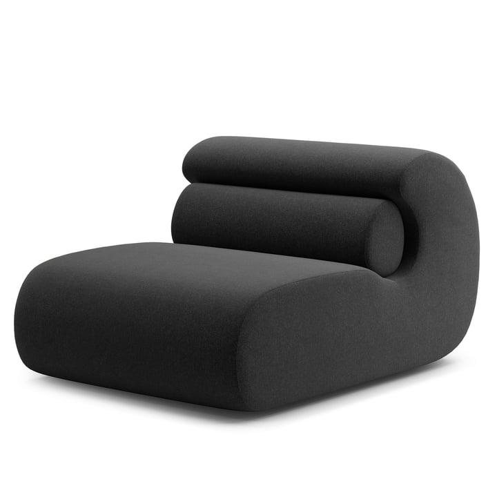 Ola Lounge Chair, anthrazit (Main Line Flax MLF28) von Objekte unserer Tage
