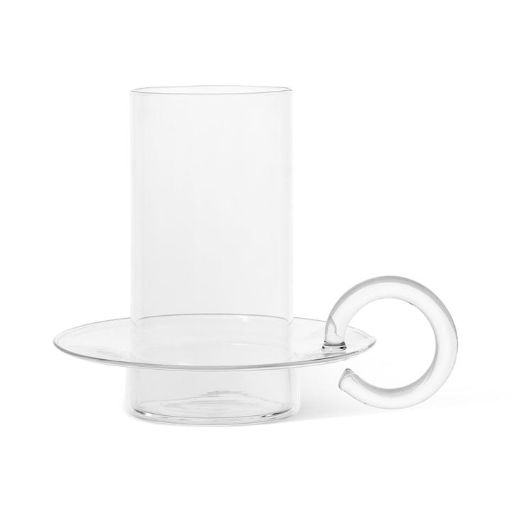 Luce Kerzenhalter Glas von ferm Living in der klaren Ausführung