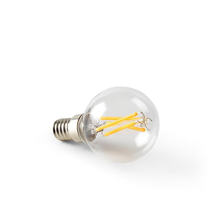 E14 / 4W LED Leuchtmittel Klarglas von ferm Living
